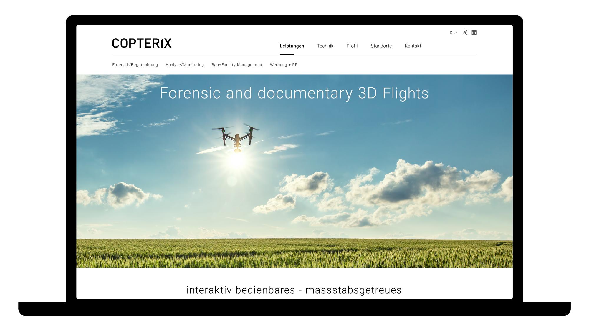 planx-website-design-copterix